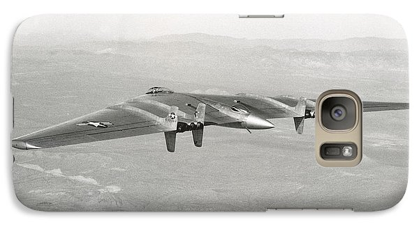 Galaxy Case featuring the photograph 1947 Northrop Flying Wing by Historic Image
