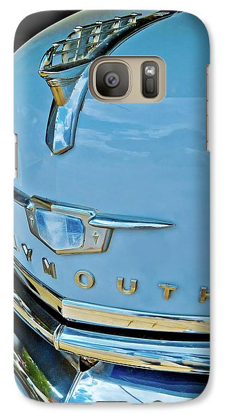 Galaxy Case featuring the photograph 1950 Plymouth Coupe by Linda Unger