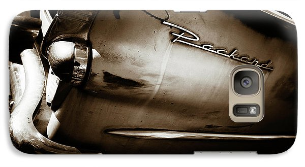 Galaxy Case featuring the photograph 1950s Packard Tail by Marilyn Hunt