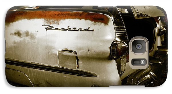 Galaxy Case featuring the photograph 1950s Packard Trunk by Marilyn Hunt