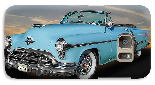 Galaxy Case featuring the photograph 1952 Oldsmobile 98 Convertible by Frank J Benz