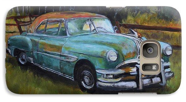 Galaxy Case featuring the painting 1952 Pontiac Chieftain  by Sandra Nardone
