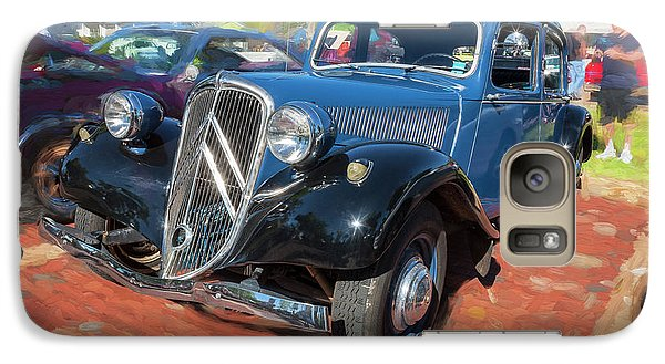 Galaxy Case featuring the photograph 1953 Citroen Traction Avant by Rich Franco