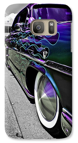 Galaxy Case featuring the photograph 1953 Ford Customline by Joann Copeland-Paul