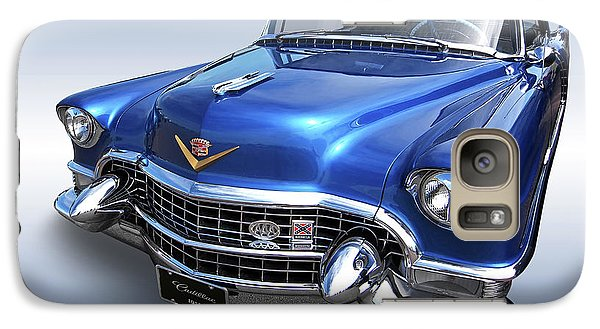 Galaxy Case featuring the photograph 1955 Cadillac Blue by Gill Billington