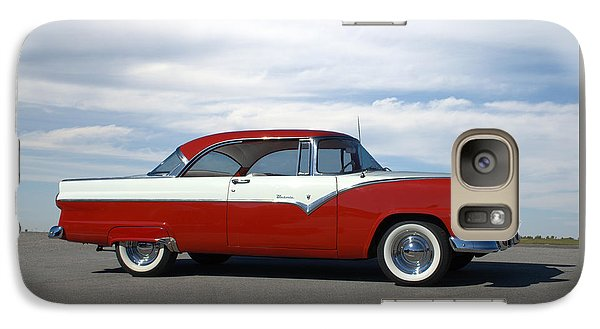 Galaxy Case featuring the photograph 1955 Ford Victoria by Tim McCullough