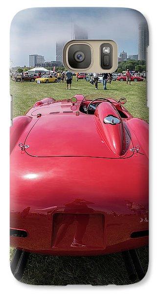 Galaxy S7 Case featuring the photograph 1956 Ferrari 290mm - 2 by Randy Scherkenbach