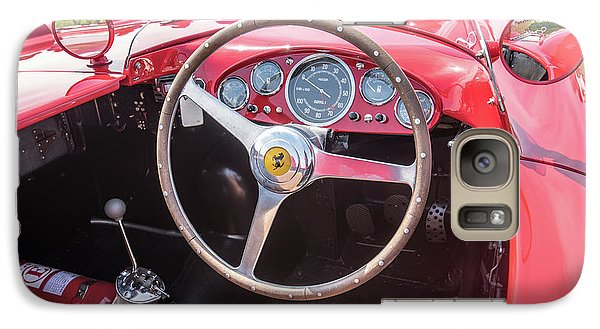 Galaxy S7 Case featuring the photograph 1956 Ferrari 290mm - 4 by Randy Scherkenbach