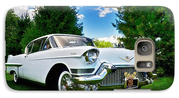 Galaxy Case featuring the photograph 1957 Cadillac by Mark Miller