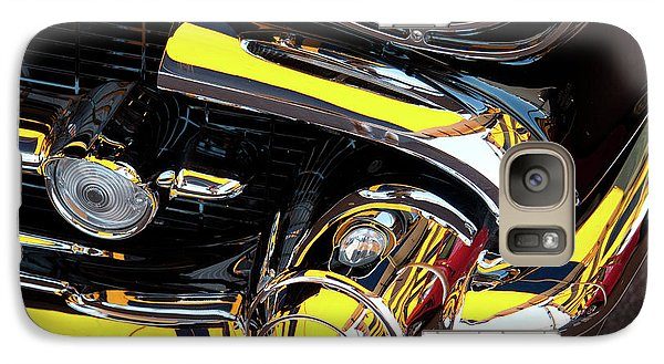 Galaxy Case featuring the photograph 1957 Chevy by Roger Mullenhour