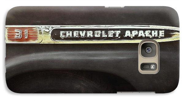 Truck Galaxy S7 Case - 1959 Chevy Apache by Scott Norris