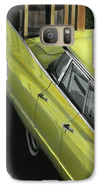 Galaxy Case featuring the photograph 1960 Cadillac by Jim Mathis