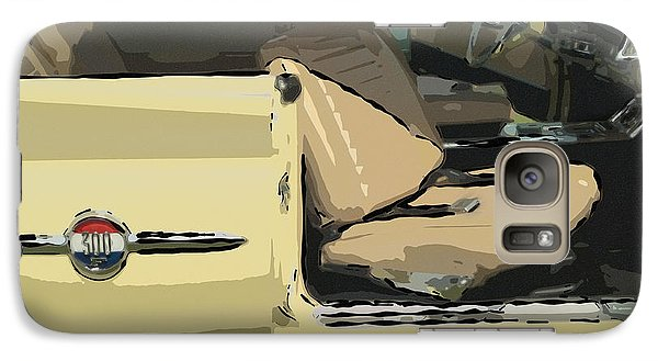 Galaxy Case featuring the photograph 1960 Chrysler 300-f  Muscle Car by David Zanzinger