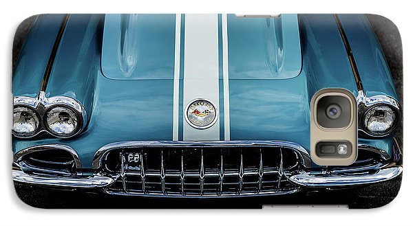 Galaxy Case featuring the photograph 1960 Corvette by M G Whittingham