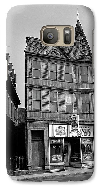 Galaxy Case featuring the photograph 1965 Jack's Celtic Tavern Boston by Historic Image
