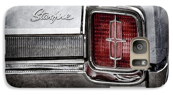 Galaxy Case featuring the photograph 1965 Oldsmobile Starfire Taillight Emblem -0212ac by Jill Reger
