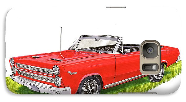 Galaxy Case featuring the painting 1966 Mercury Cyclone Convertible G T by Jack Pumphrey