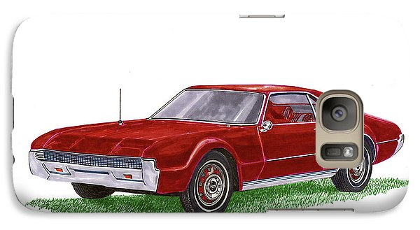 Galaxy Case featuring the painting 1966 Oldsmobile Toronado by Jack Pumphrey
