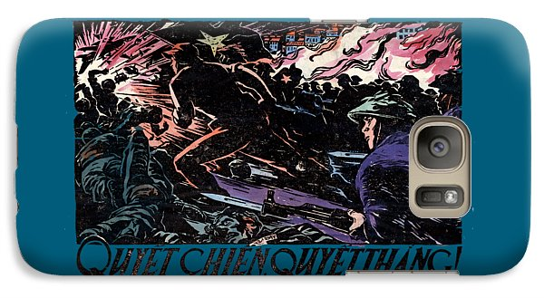 Galaxy Case featuring the painting 1968 North Vietnamese Propaganda by Historic Image