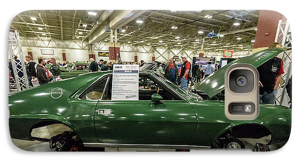 Galaxy S7 Case featuring the photograph 1969 Amc Amx by Randy Scherkenbach