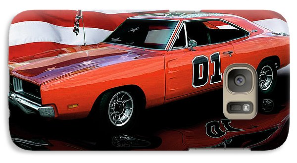 Galaxy Case featuring the photograph 1969 General Lee by Peter Piatt