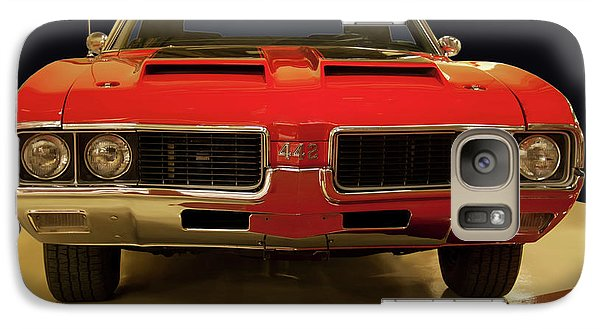 Galaxy Case featuring the photograph 1969 Oldsmobile 442 W-30 by Chris Flees