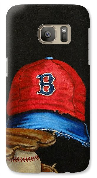 Galaxy Case featuring the painting 1975 Red Sox by Susan Roberts