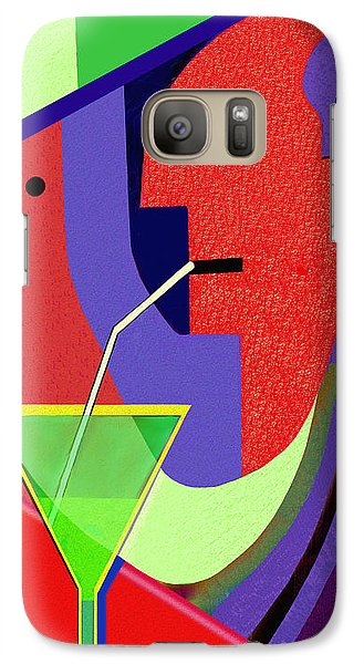 Galaxy Case featuring the digital art 1979 - Party Pop 2017 by Irmgard Schoendorf Welch