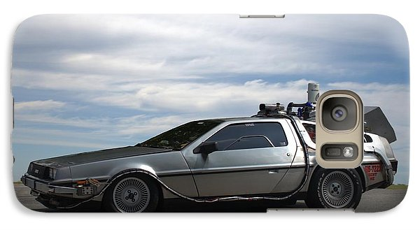 Galaxy Case featuring the photograph 1981 Delorean Dmc12 by Tim McCullough