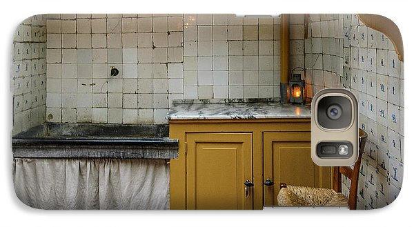 Galaxy Case featuring the photograph 19th Century Kitchen In Amsterdam by RicardMN Photography