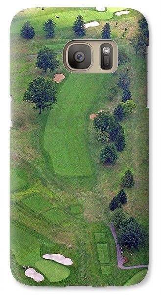 Galaxy Case featuring the photograph 1st Hole Sunnybrook Golf Club 398 Stenton Avenue Plymouth Meeting Pa 19462 1243 by Duncan Pearson