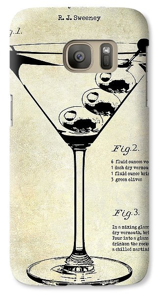 1897 Dirty Martini Patent Galaxy S7 Case