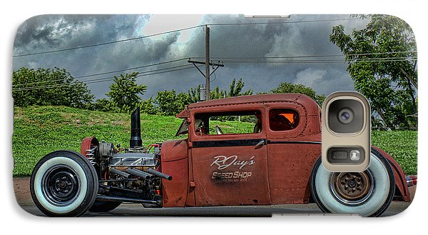 Galaxy Case featuring the photograph 1929 Ford Hot Rod by Tim McCullough