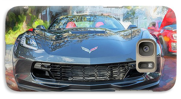 Galaxy Case featuring the photograph 2017 Chevrolet Corvette Gran Sport  by Rich Franco