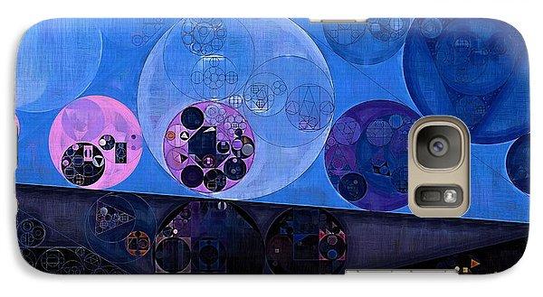 Galaxy Case featuring the digital art Abstract Painting - Saint Patrick Blue by Vitaliy Gladkiy