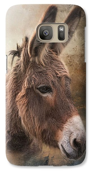 Galaxy Case featuring the photograph All Ears by Robin-Lee Vieira