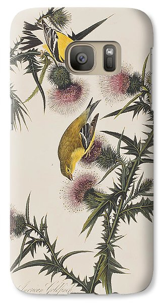 American Goldfinch Galaxy S7 Case by John James Audubon