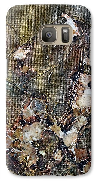 Galaxy Case featuring the painting Autumn Leaves by Joanne Smoley