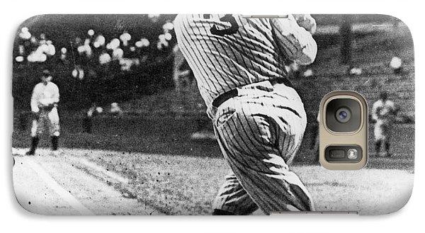 Baseball Bats Galaxy S7 Case - Babe Ruth by American School