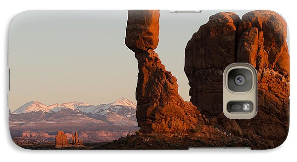 Galaxy Case featuring the photograph Balance by Paul Noble