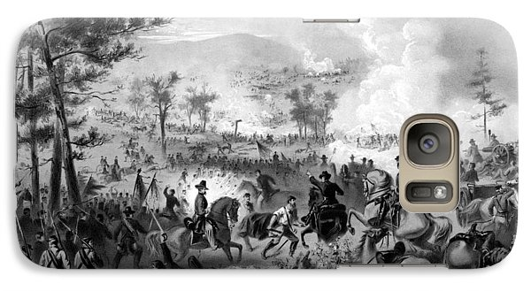 Galaxy Case featuring the drawing Battle Of Gettysburg by War Is Hell Store