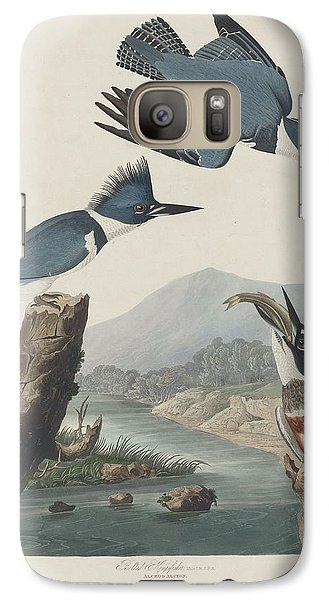 Belted Kingfisher Galaxy S7 Case