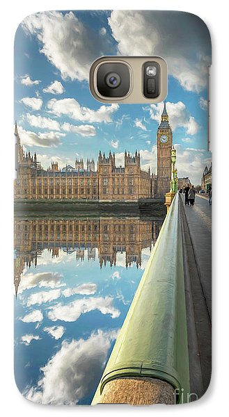 Galaxy Case featuring the photograph Big Ben London by Adrian Evans