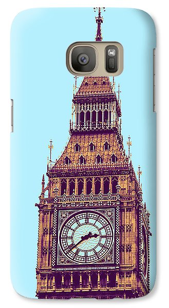 Big Ben Tower, London  Galaxy S7 Case by Asar Studios