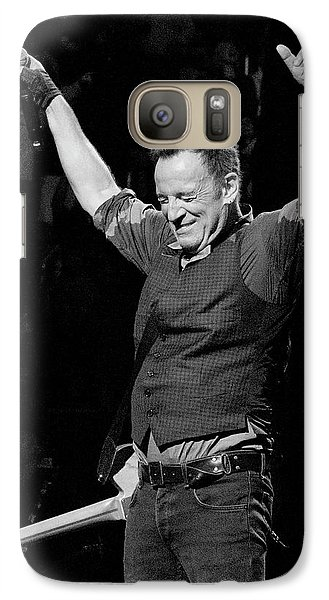 Galaxy Case featuring the photograph Bruce Springsteen by Jeff Ross