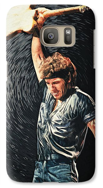 Bruce Springsteen Galaxy S7 Case - Bruce Springsteen by Zapista