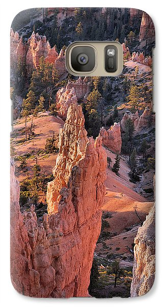 Galaxy Case featuring the photograph Bryce Canyon Sunrise by Stephen  Vecchiotti