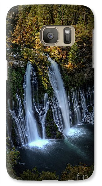 Galaxy Case featuring the photograph Burney Falls by Kelly Wade