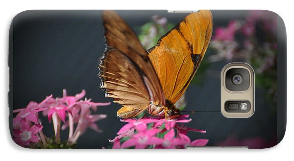 Galaxy Case featuring the photograph Butterfly by Savannah Gibbs