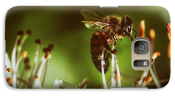 Galaxy Case featuring the photograph Bzzz by Michael Siebert